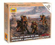 """Набор миниатюр """"Великая Отечественная. Британский 3-дюймовый миномет с расчетом"""""""