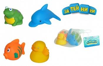 """Игровой набор для ванны """"Водный мир"""" (Затейники GT2459)"""