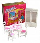 """Набор мебели для кукол """"Столовая"""""""