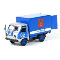 """Машина металлическая инерционная """"УАЗ 3303. Милиция"""""""