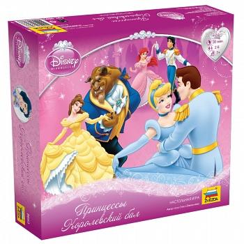 """Настольная игра """"Disney. Принцессы. Королевский бал"""" (Звезда 8693)"""