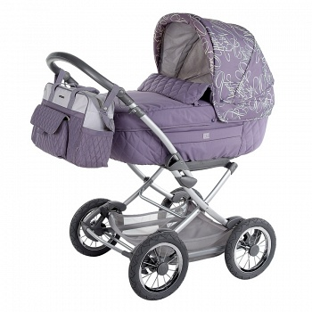 Коляска-люлька Happy Baby Charlotte Purple (2555)