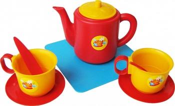 """Набор игрушечной посуды """"Чайный"""" (Пластмастер 21002)"""