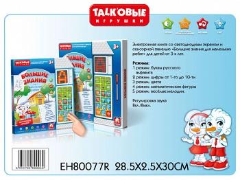 """Электронная книга """"Большие знания для маленьких ребят"""" (S+S Toys EH80077R)"""