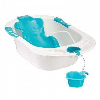 """Детская ванна с анатомической горкой """"Bath Comfort"""" (Happy Baby 34005)"""