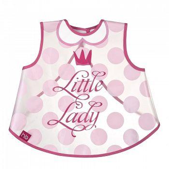 """Нагрудник-жилетка на липучке """"Little Lady & Little Gentleman"""" (Happy Baby 16004)"""