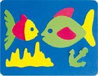 """Мягкий конструктор """"Мозаика. Рыбки"""""""