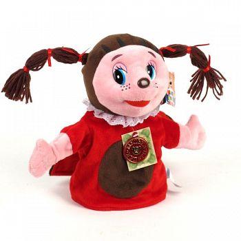 """Мягкая перчаточная игрушка """"Лунтик. Божья коровка Мила"""" (Мульти-Пульти V40915/25)"""