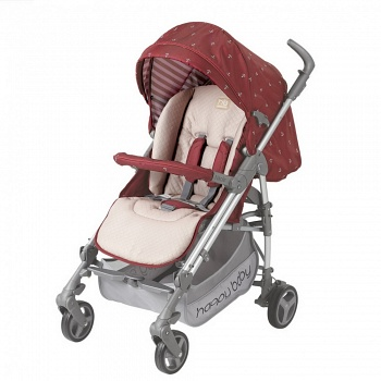 Открытая коляска Happy Baby Nicole NEW Maroon (2497)