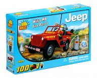 "Конструктор ""Action Town. Jeep Willys MB Fire Patrol"" (100 деталей)"