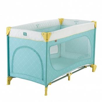 Манеж-кровать Happy Baby Martin NEW Blue (2443)