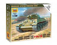 """Сборная модель """"Великая Отечественная. Советский средний танк Т-34/76 1940"""""""
