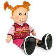 """Мягкая игрушка """"Кукла Майя в вязаной жилетке"""""""