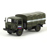 """Машина металлическая инерционная """"ГАЗ 66. Вооруженные силы"""""""