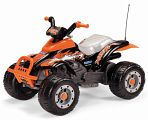 Детский квадроцикл Peg-Perego Corral T-Rex Orange