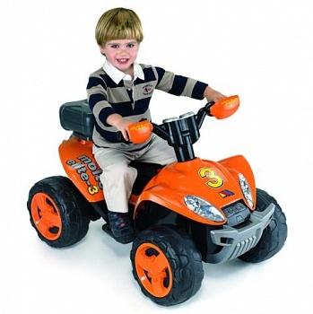 Детский квадроцикл Molto Elite 3 оранжевый (Полесье 35899)