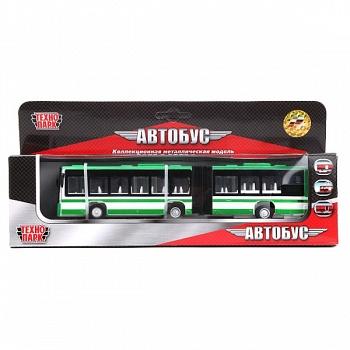 Автобус металлический инерционный (Технопарк 803-WB)
