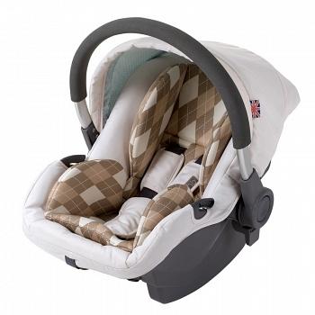 Автокресло-переноска Happy Baby Madison Rhomb (2562)