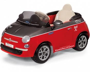 Электромобиль Peg-Perego Fiat 500 Red на радиоуправлении (IGED1163)