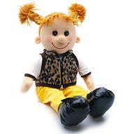 """Мягкая игрушка """"Кукла Майя в жилетке"""""""