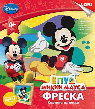 "Картина из песка ""Фреска. Disney. Микки"" (Lori Кпд-001)"