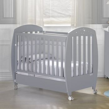 Кровать 120x60 Micuna Valeria Luxe Relax серый