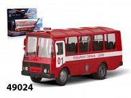"""Модель автомобиля """"ПАЗ-32053. Пожарная охрана"""""""