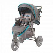 Прогулочная коляска Happy Baby Neon Sport Blue