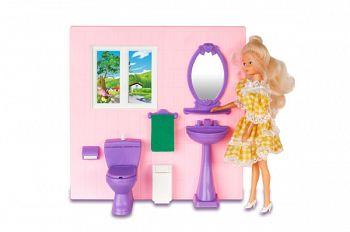 """Набор мебели для кукол """"Туалетная комната"""" (Огонек С-485)"""