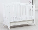 "Кровать 120x60 Гандылян ""Моника"" белый"