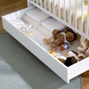Ящик для кровати 120x60 Micuna Luxe белый (CP-949)