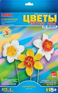 """Цветы из флиса """"Нарциссы"""""""