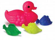 """Набор игрушек для купания """"Утка и 3 рыбки"""" (4 элемента)"""