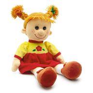 """Мягкая игрушка """"Кукла Майя в платье"""""""