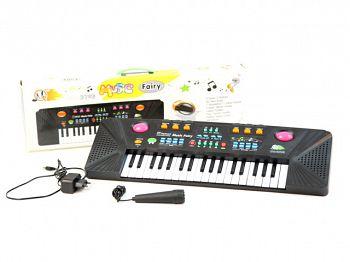 Пианино детское с микрофоном (MQ-3703)