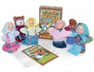 """Домашний кукольный театр """"Русские народные сказки. Маша и медведь"""""""