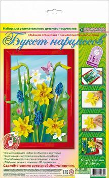 """Набор для изготовления картины """"Вальс цветов. Букет нарциссов"""" (Клевер АБ 14-355)"""