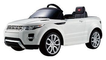 Электромобиль Rastar Land Rover Evoque White (81400)