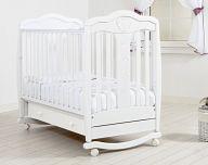 """Кровать 120x60 Гандылян """"Мишель"""" белый"""
