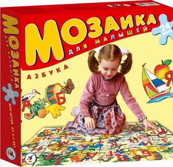 "Пазл ""Мозаика для малышей. Азбука"" (Дрофа 1711)"