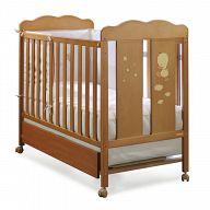 Кровать 120x60 Micuna Dido вишня
