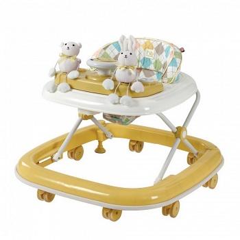Ходунки Happy Baby Smiley NEW Yellow (2651)