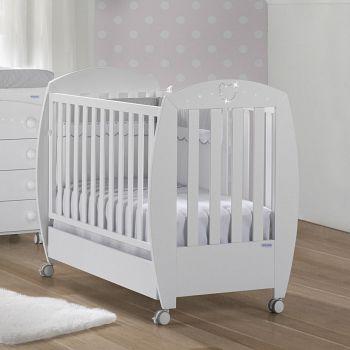Кровать 120x60 Micuna Valeria Luxe Relax белый