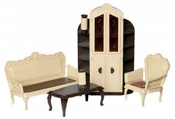 """Набор мебели для кукол """"Коллекция. Гостиная"""" (Огонек С-1299)"""