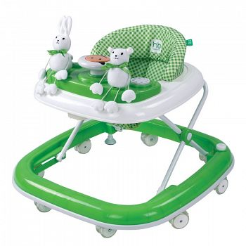 Ходунки Happy Baby Smiley Green (2651)