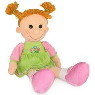 """Мягкая игрушка """"Кукла Майя в платье с вышивкой"""""""