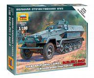 """Сборная модель """"Великая Отечественная. Немецкий бронетранспортер Sd.Ktz.251/1 Ausf.B """"Ханомаг"""""""