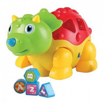 """Динозаврик-сортер """"Dino"""" (Happy Baby 331835)"""