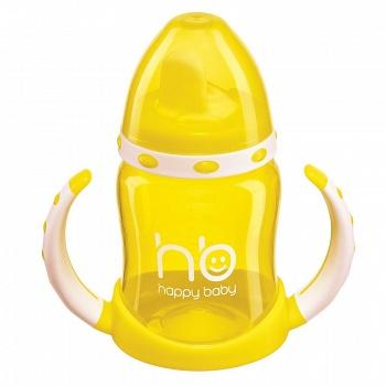 """Поильник с двумя тренировочными клапанами """"Ergo Cup"""" (Happy Baby 14005)"""