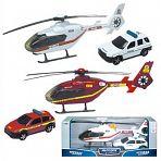 "Модели джипа и вертолета ""AIR EMERGENCY TEAM"""